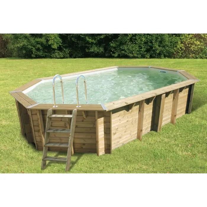 ubbink piscine bois ocea 355x550 h120cm