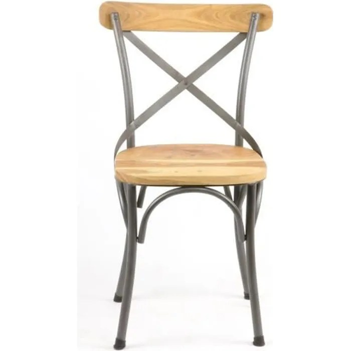 chaise industriel fer