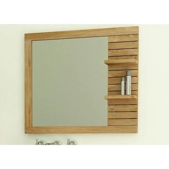Miroir En Teck Rectangulaire Walk Porquerolles L80 X H63 Achat Vente Miroir Salle De Bain Soldes Sur Cdiscount Des Le 20 Janvier Cdiscount