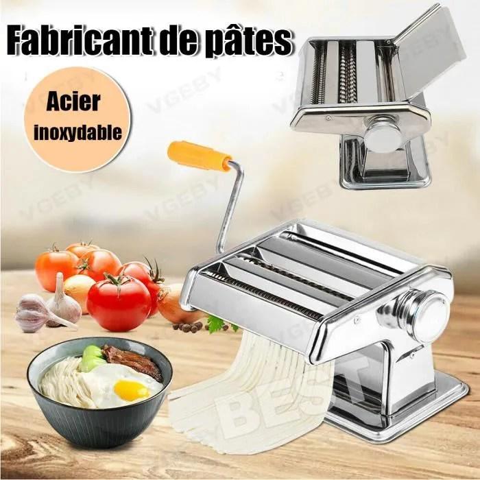 pasta maker machine a pate machine a faire des pates manuel multifonctionnel en acier inoxydable