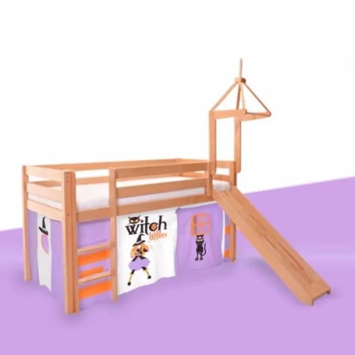 rideaux pour le coton tente cabane lit sureleve lits superposes design textile de la petite sorciere