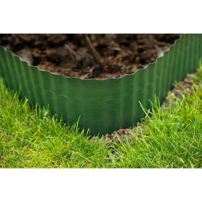 bordure jardin en plastique