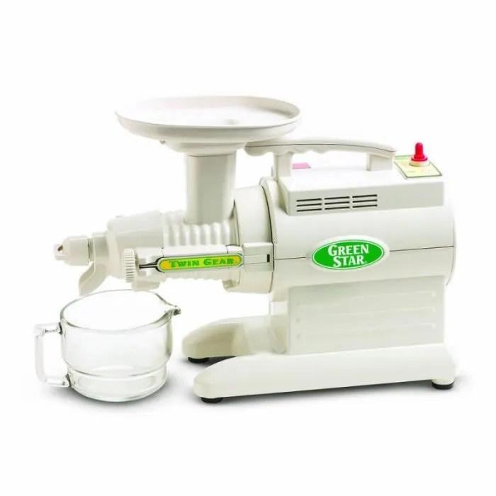 tribest greenstar gs1000 blanc extracteur de jus horizontal