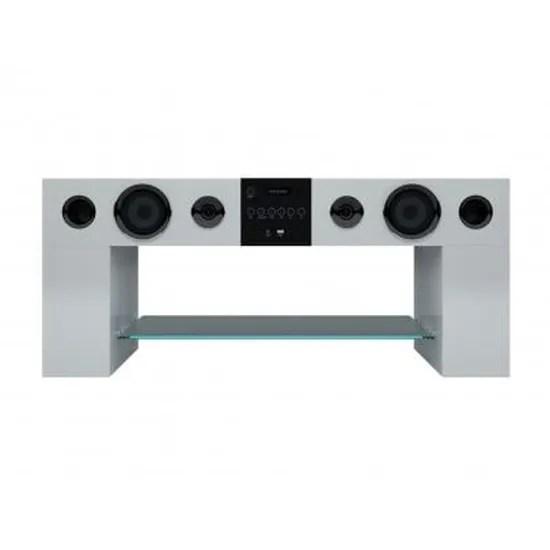 https www cdiscount com maison meubles mobilier meuble tv home cinema integre stereo blanc f 117600105 ven3760178961608 html