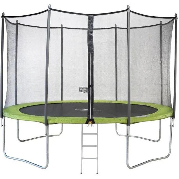 trampoline rectangulaire