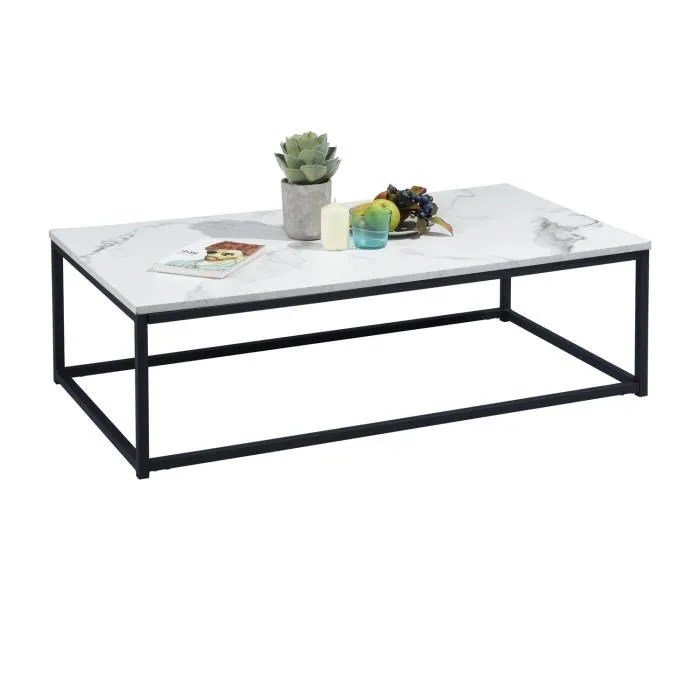 furnish1 moderne table basse bout canape 110x60c