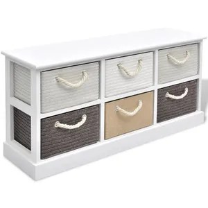 banc rangement avec tiroirs