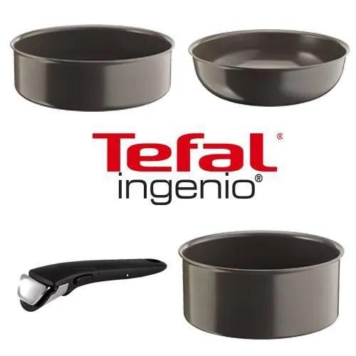 tefal ingenio set 4 pieces casserole