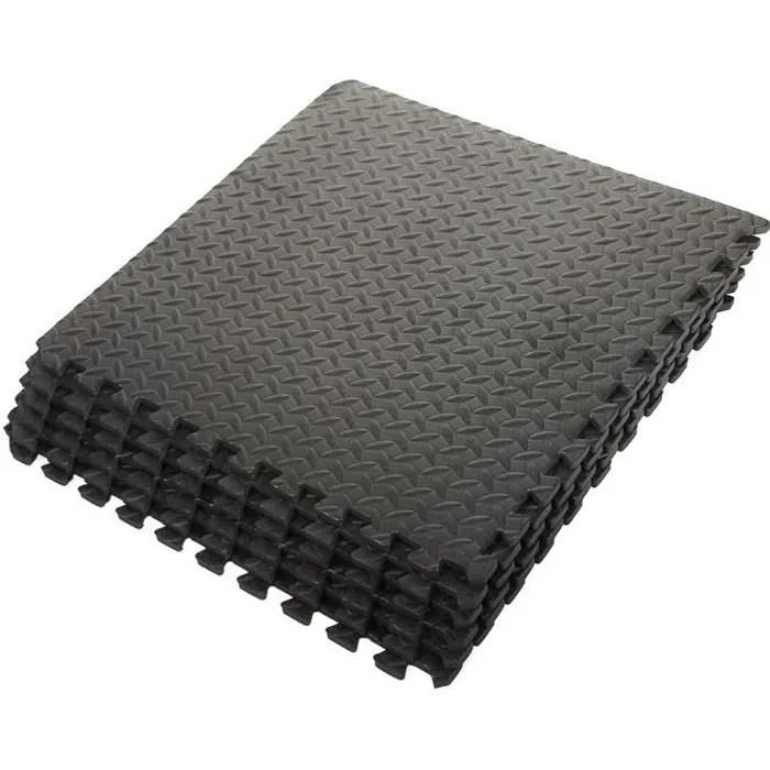 ensemble de 6 tapis mousse de sol 63 x 63 x 1 2 cm
