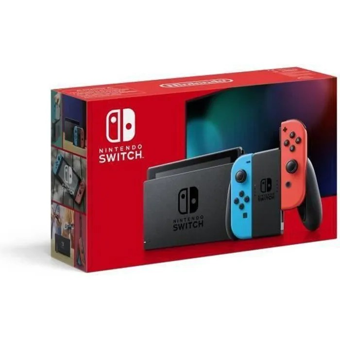 console nintendo switch noire