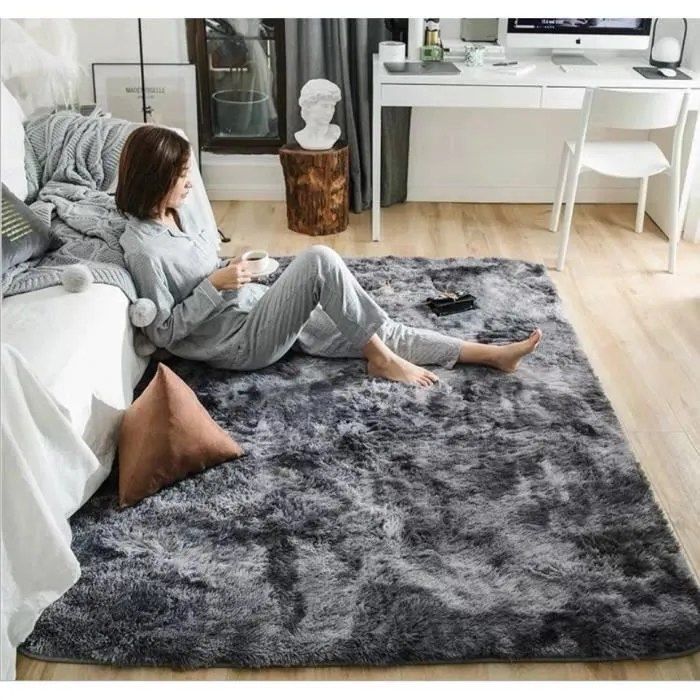 tapis de salon tapis maison motley tie dye gradien