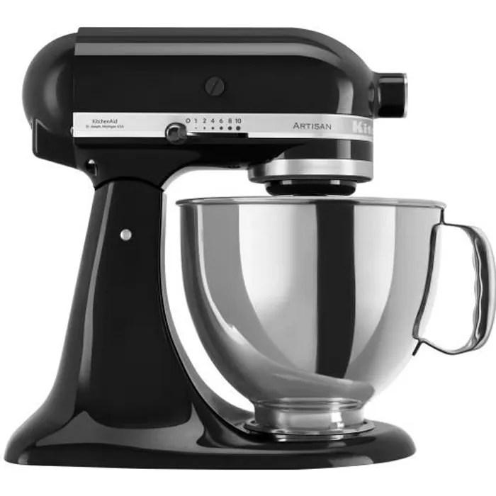 kitchenaid artisan 5ksm175pseob robot patissier 300 watt noir onyx