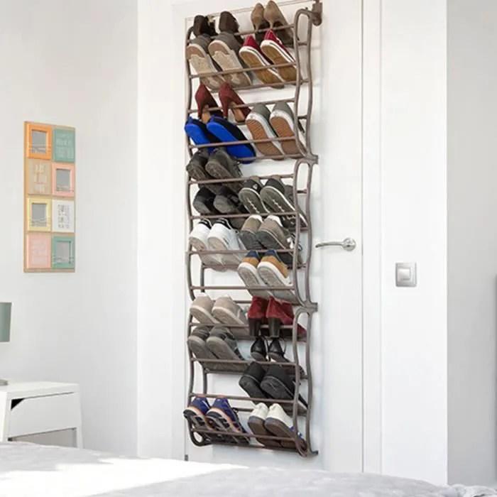 shop story range chaussures 36 paires a suspendre sur porte