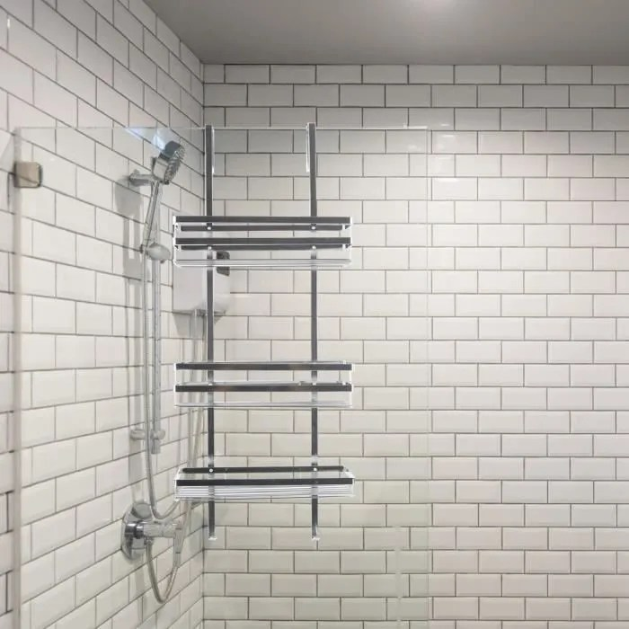 etagere douche en acier inox 304 salle de bains ac