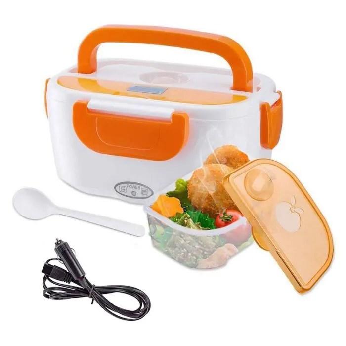 tsc boite dejeuner pour voiture boite dejeuner chauffante lunch box electrique pour voitures boite repas boite a lunch voyage