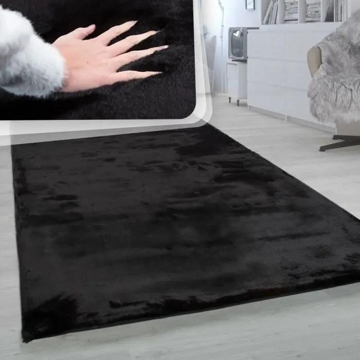 tapis a poils longs tapis shaggy pour salon doux