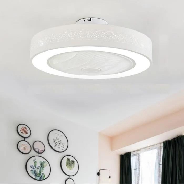 ventilateur lampe plafonnier a led
