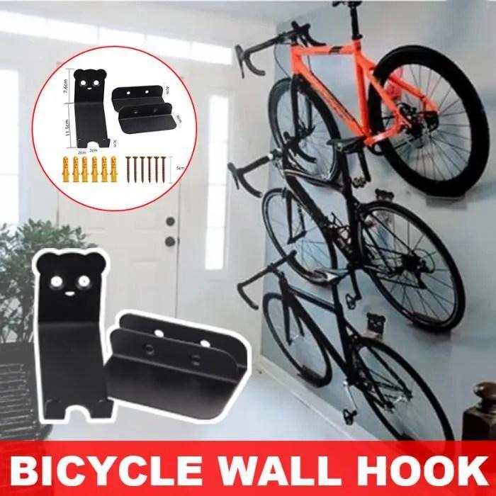 rack rangement velo support pour bicyclette mural en acier support de rangement velo a la maison