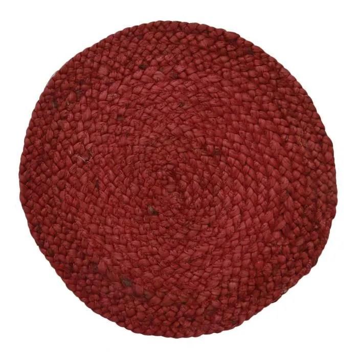 coton tapis de sol a la main tapis tresse jute et