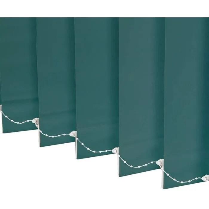 rideau store en lamelle verticale