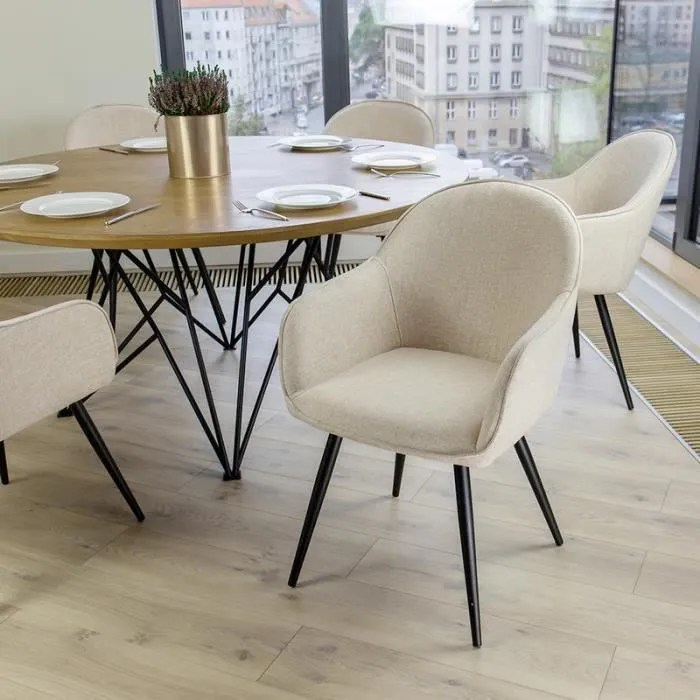 chaise salle a manger chaise tapissee bill b