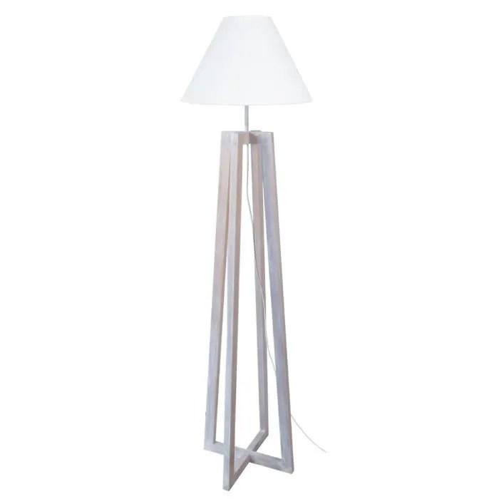 pied lampadaire bois de aulne
