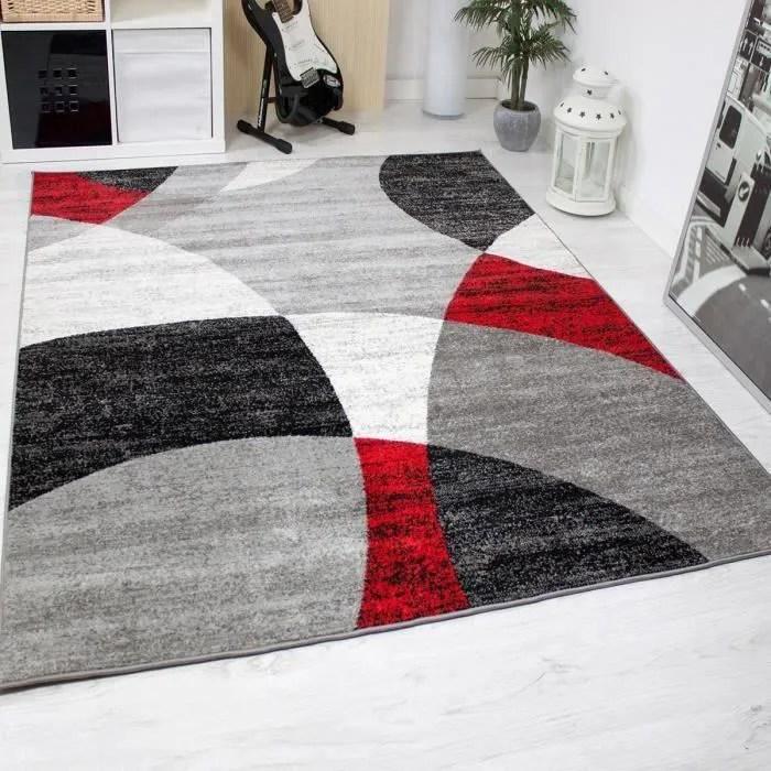 tapis salon 2 x 3m rouge
