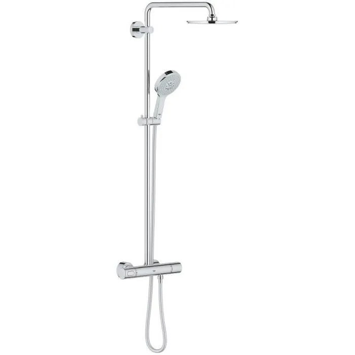 grohe colonne de douche avec mitigeur thermostatiq