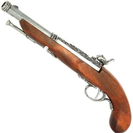 pistolet francais a percussion 19eme
