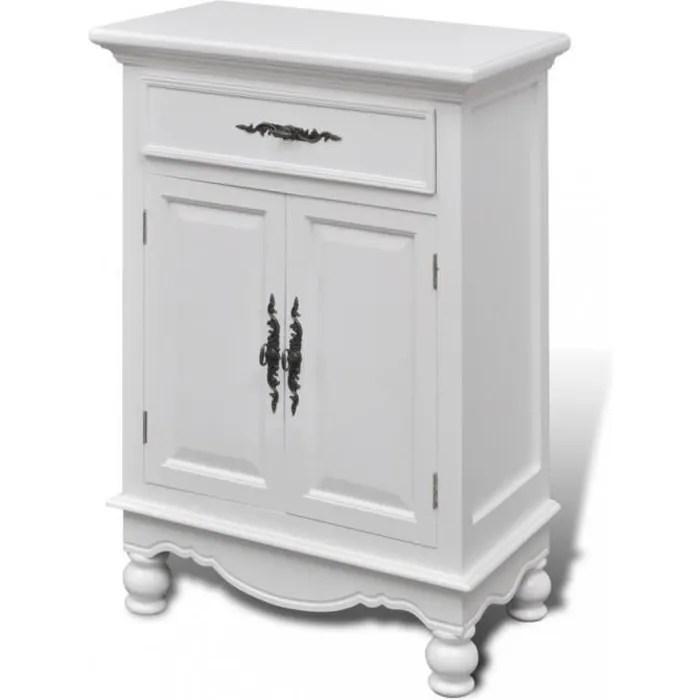 armoires et meubles de rangement cabinet blanc en