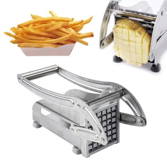 machine de frites de main de menage d acier inoxydable pommes de terre frites