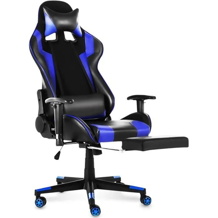 chaise gaming siege gamer fauteuil ergonomique inclinable a 180