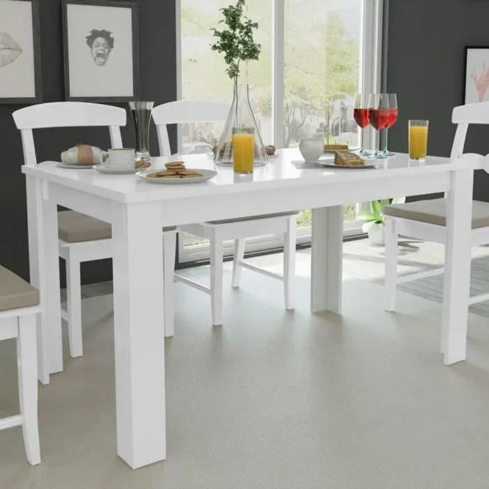 table de salle a manger blanche table de salle a m