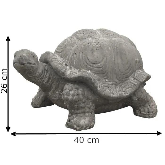 40 cm x 26 cm x 25 cm 14293 tortue
