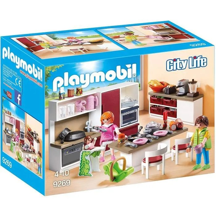 playmobil salle a manger