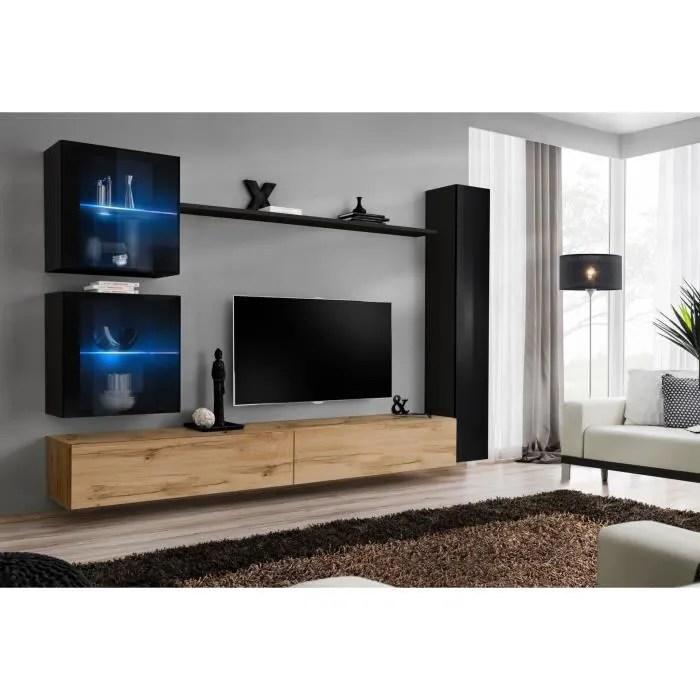 meuble tv marron