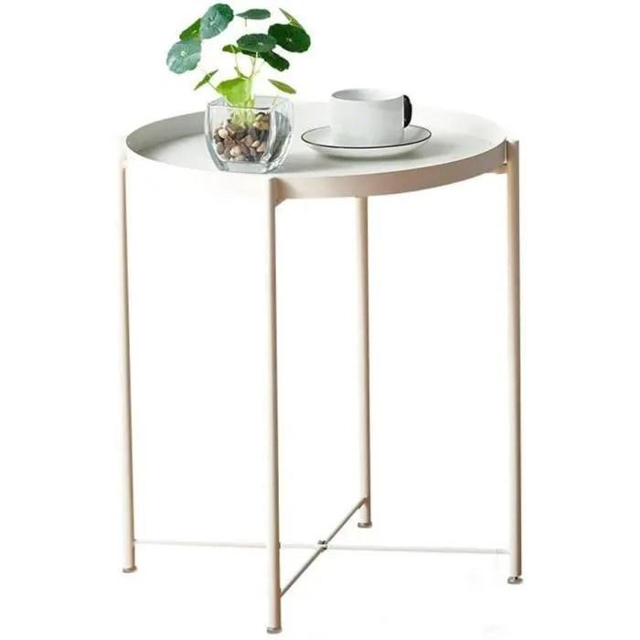 https www cdiscount com maison meubles mobilier table basse ronde maison petite table pliante mult f 117600104 auc1380962845697 html
