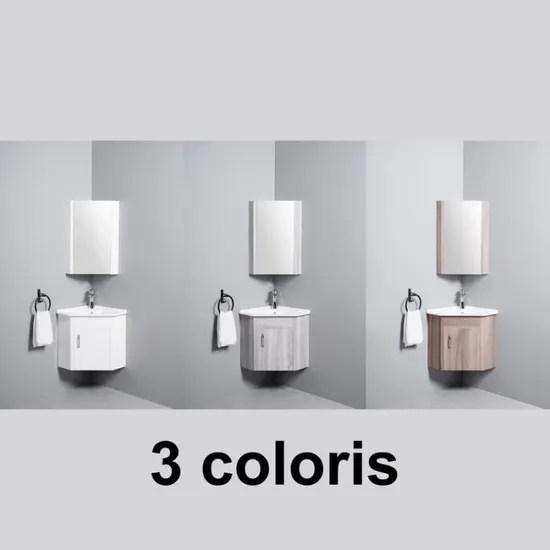 meuble de salle de bain d angle gain de