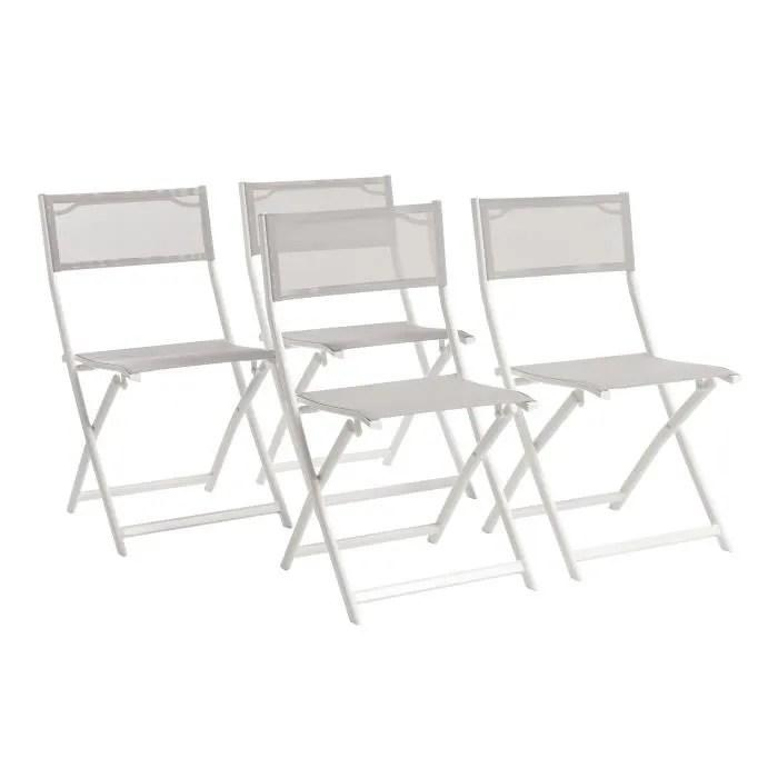 chaise pliante textilene