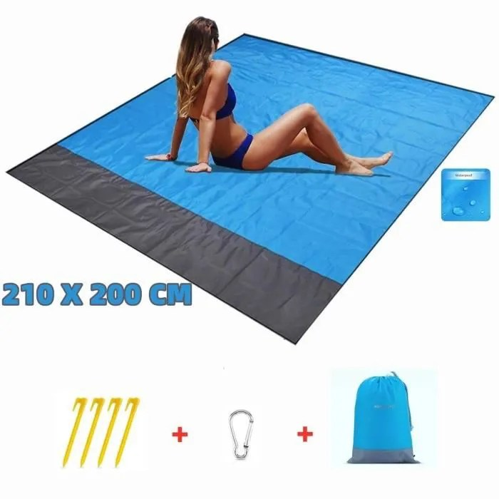kenlumo tapis de plage couverture de pique nique i