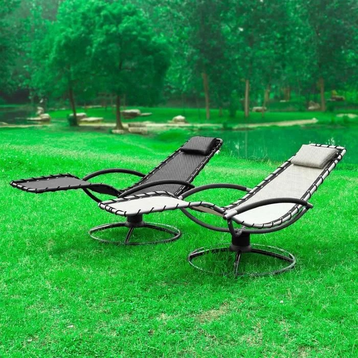 chaise longue bain de soleil transat de