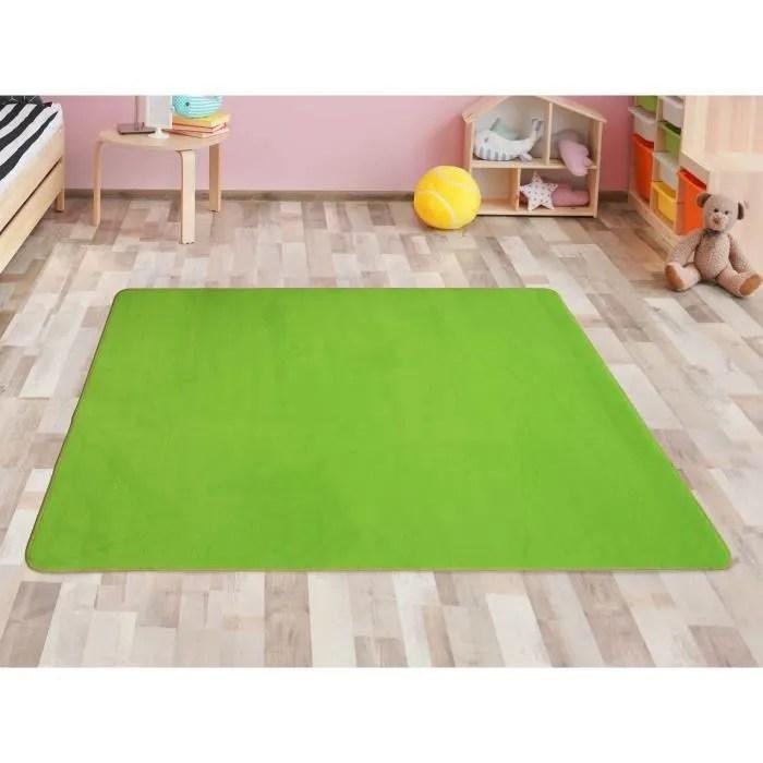tapis pour enfant vert 1 00mx1 50m