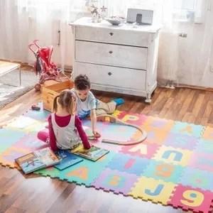 lo puzzle tapis de jeu enfant en mousse