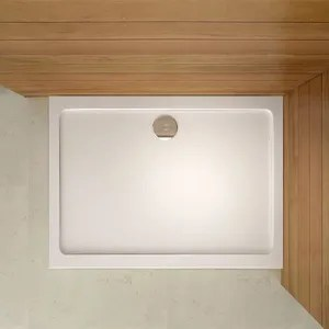 receveur de douche rectangulaire en