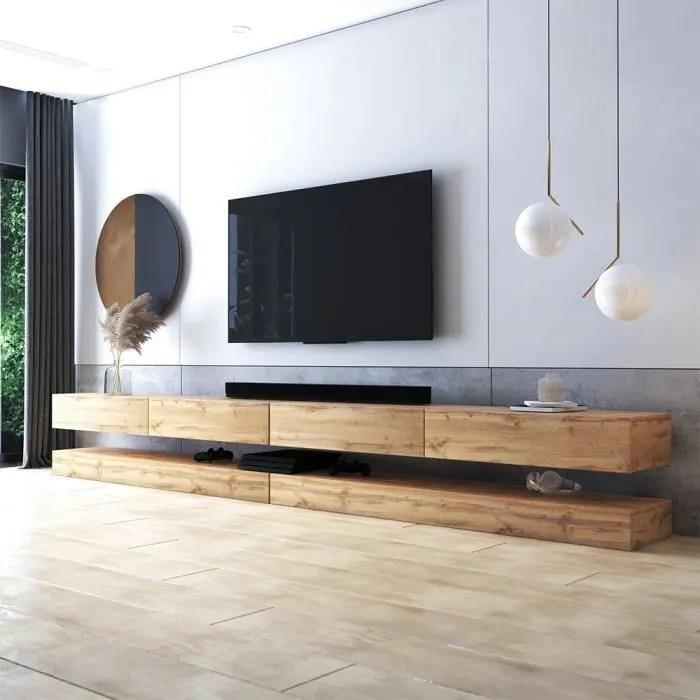 selsey oxy double lot de 2 meuble tv