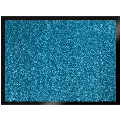 tapis bleu turquoise