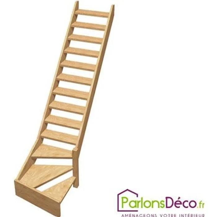escalier 1 4 tournant