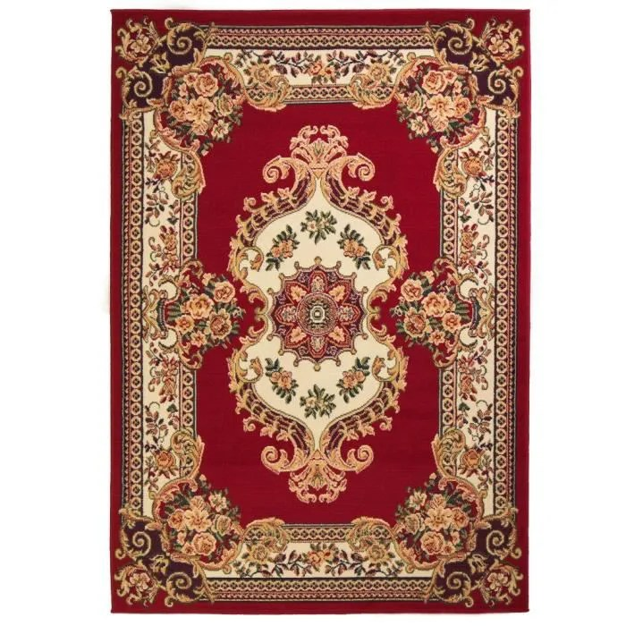 tapis persan rouge