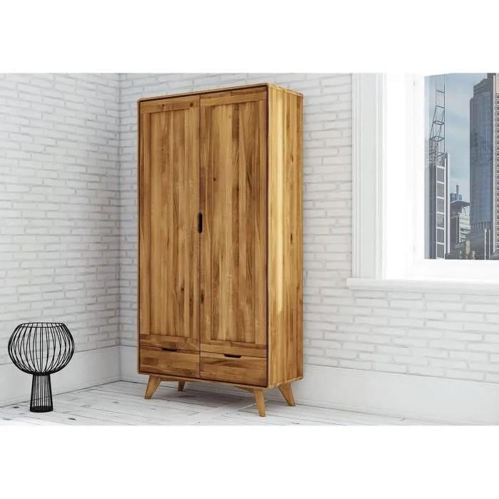 armoire bois massif de chene sauvage huile bois naturel malmo 13