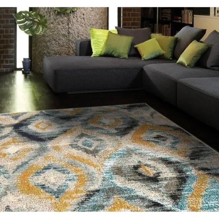 novatrend tapis salon design blush bleu ciel 160x230 cm
